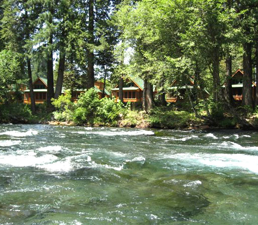 McKenzie River Oregon Cabins and Cottages, Inn at the Bridge